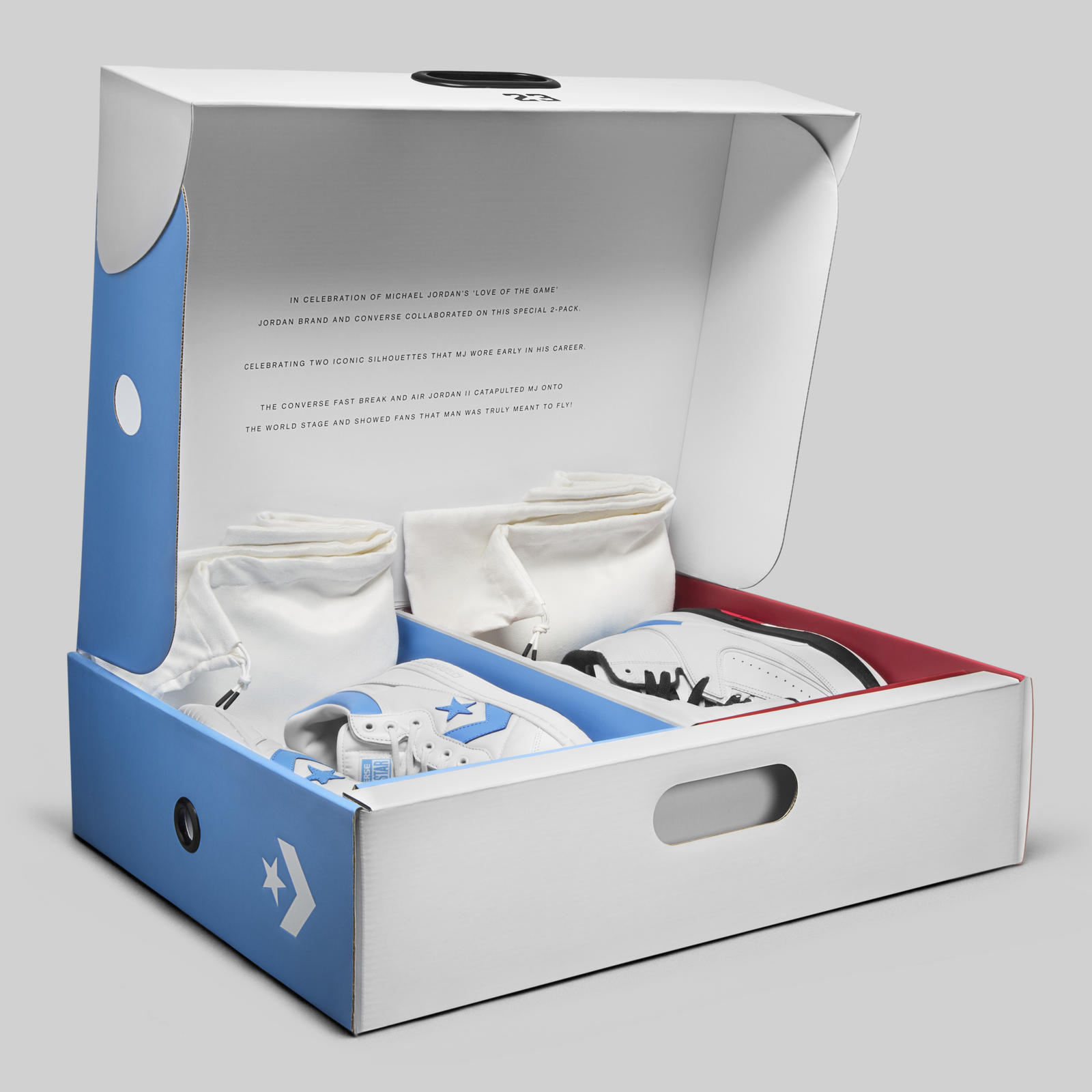 jordan Converse collaboration box